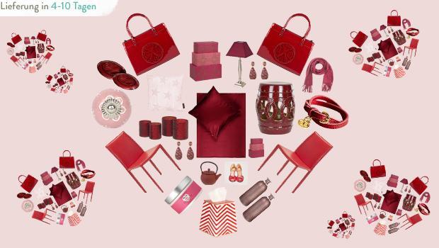 Rot, Pink und Rosa