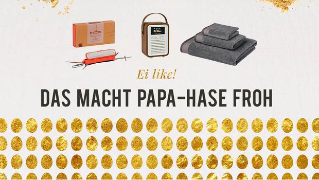 Papas Ostergeschenke