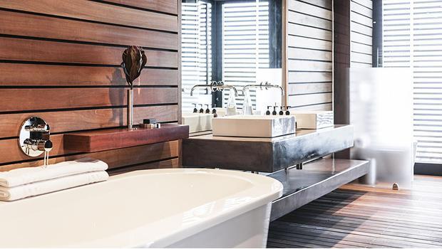 Entspanntes Badezimmer