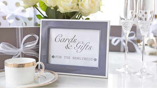 Geschenkideen zur Hochzeit