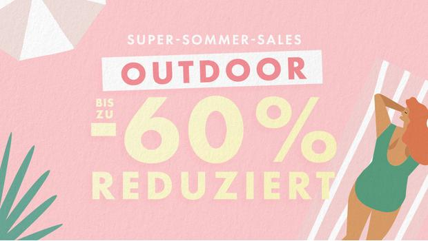 Sommer-Sale: Outdoor
