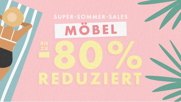 Sommer-Sale: Möbel