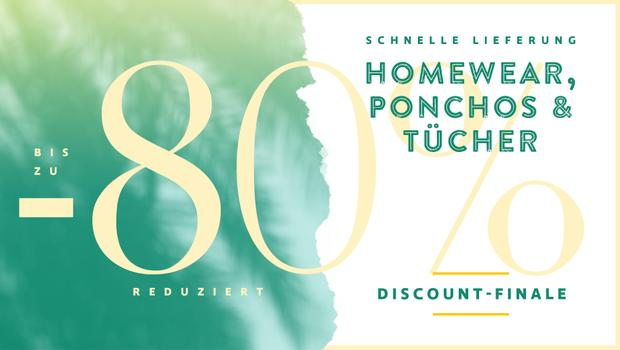 Homewear, Ponchos & Tücher