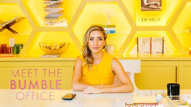 Das Glam-Office von Bumble