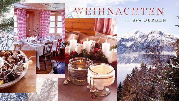 weihnachten in den bergen so gem tlich ist der alpen style. Black Bedroom Furniture Sets. Home Design Ideas