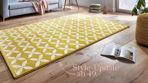Teppiche in Sommerfarben