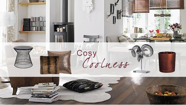 cosy cool modern und gem tlich wohnen westwing. Black Bedroom Furniture Sets. Home Design Ideas