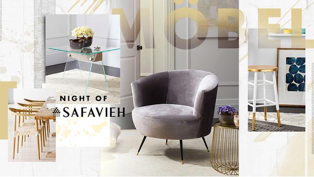 Safavieh: Möbel-Vielfalt