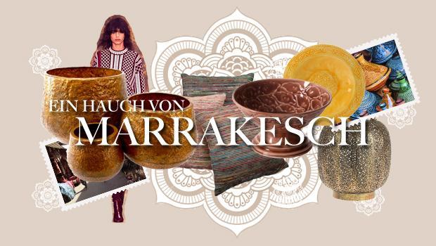 Von Marrakesch inspiriert