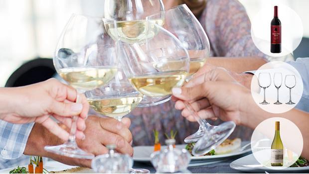 Einladung zum Weinabend