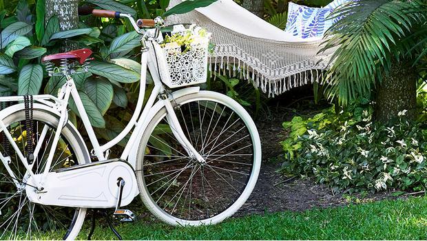 Wir fahren Fahrrad!