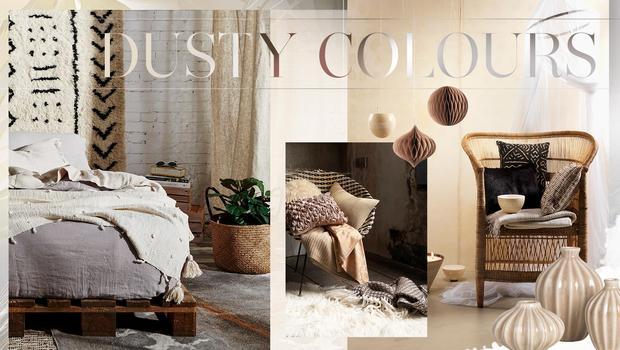 Farbspiele in Dusty Colours