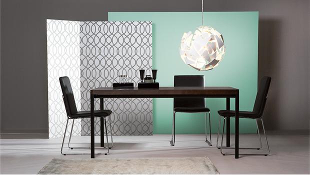 freistil rolf benz esstische design in eiche oder. Black Bedroom Furniture Sets. Home Design Ideas