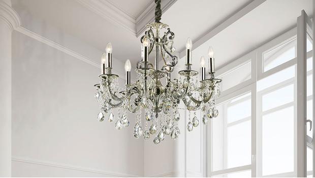 Einfach glänzend! glamouröse leuchten mit kristall westwing