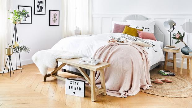 Alles für einen Tag im Bett