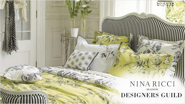 im luxus schlafen designers guild nina ricci co. Black Bedroom Furniture Sets. Home Design Ideas