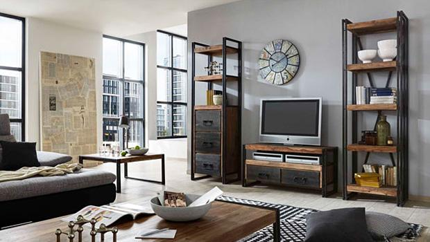 wohnen wie in brooklyn m bel im industrial look westwing. Black Bedroom Furniture Sets. Home Design Ideas