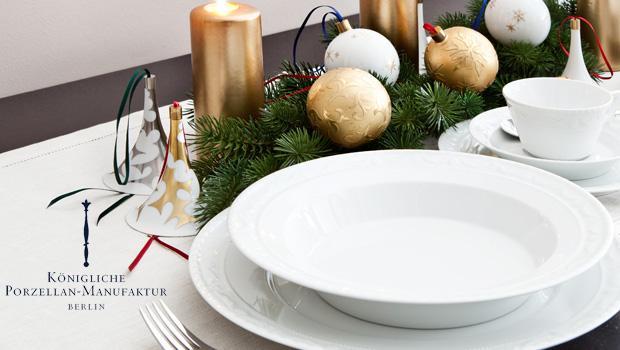 kpm wahrhaft k nigliche weihnachten westwing. Black Bedroom Furniture Sets. Home Design Ideas