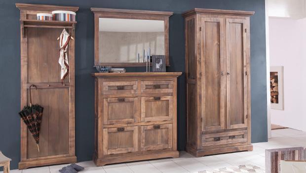 entree im landhausstil schuhschr nke andere flurm bel westwing. Black Bedroom Furniture Sets. Home Design Ideas