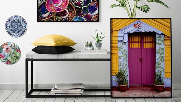 Kunst mit Mexican Spirit