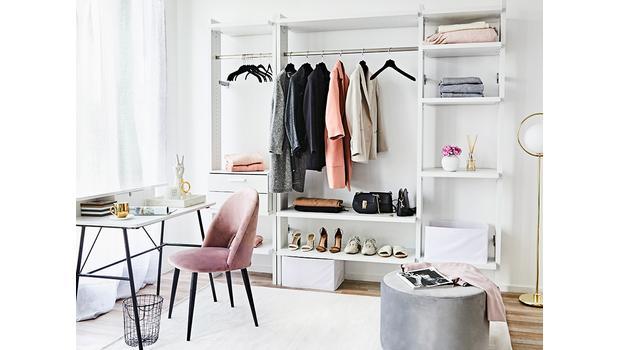 Flexibles Schrank-System Für den Traum vom begehbaren Kleiderschrank ...