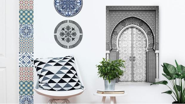 Orientalische Wandobjekte