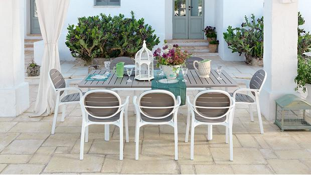 Nardi outdoor m bel made in italy westwing - Outdoor stuhle stapelbar ...