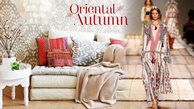 Orientalische Farb-Opulenz