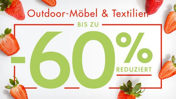 Outdoor-Möbel & -Textilien