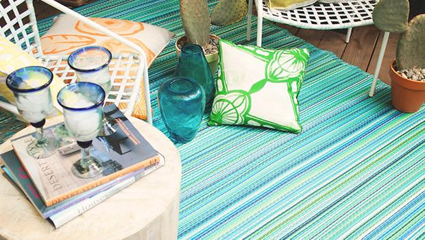 Sommer-Trend: Outdoor-Teppich