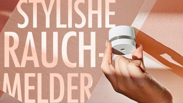 Stylishe Mini-Rauchmelder