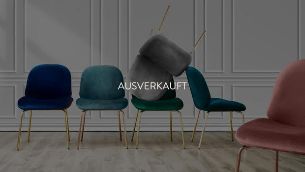 Elegante Samt-Stühle