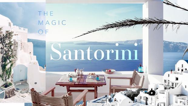 Der Zauber von Santorini