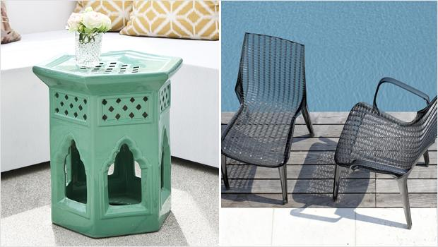 Stylishe Outdoor-Idylle