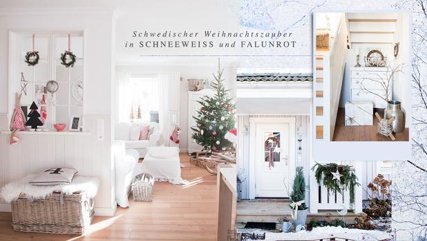 Weihnachten im schwedenhaus festlich nordische wohnideen westwing