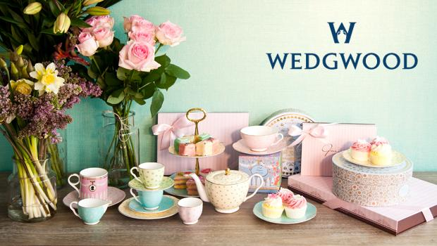 Teestunde mit Wedgwood
