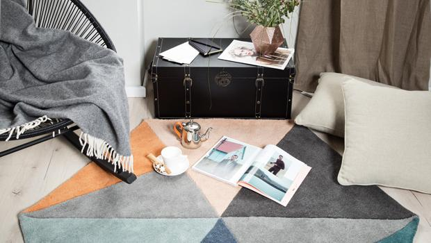 Teppiche im Scandi Style