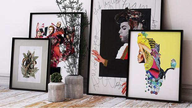 Kunst braucht die Wand