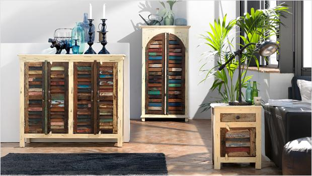 kultiges im used look m bel deko objekte kissen westwing. Black Bedroom Furniture Sets. Home Design Ideas