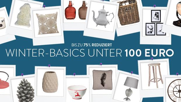 Winter-Basics unter 100 €