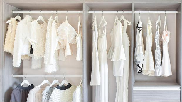 Kleiderschrank-Storage