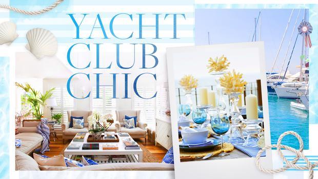 Luxuriöses Yacht-Club-Flair