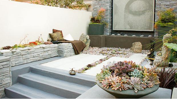 zen garten flair der moderne outdoor asia style westwing. Black Bedroom Furniture Sets. Home Design Ideas