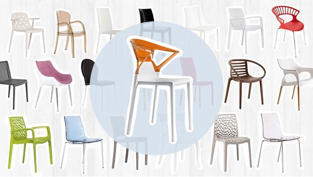 Moderne Stuhl-Vielfalt