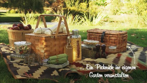 Picknick at home