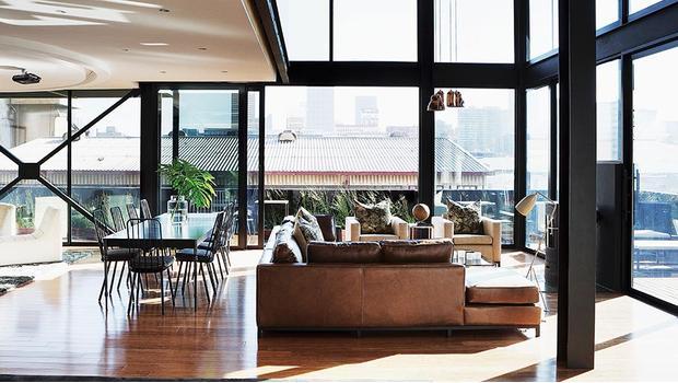 Stilvoller Penthouse Chic