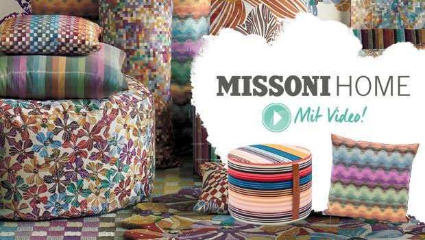 missoni home kissen badet cher und mehr westwing. Black Bedroom Furniture Sets. Home Design Ideas