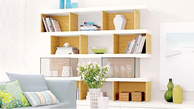 Praktische Bücherregale