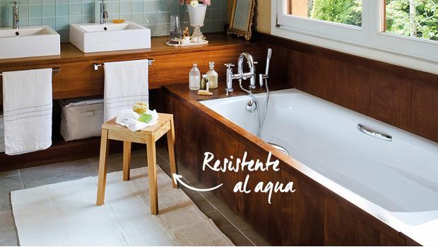 El baño más resistente