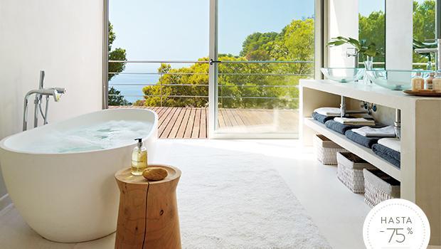 Un baño de revista